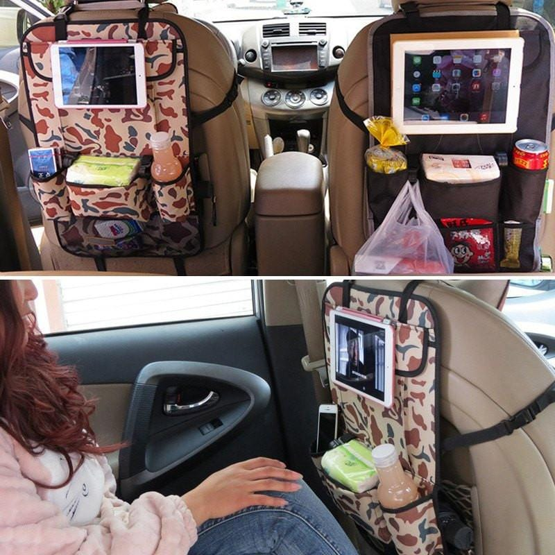 Car Backseat Multi-Pocket Organizer