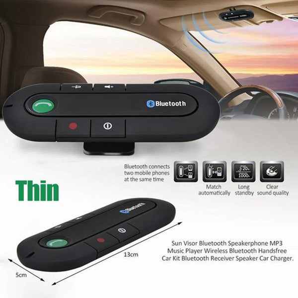 Bluetooth Car Visor Speakerphone