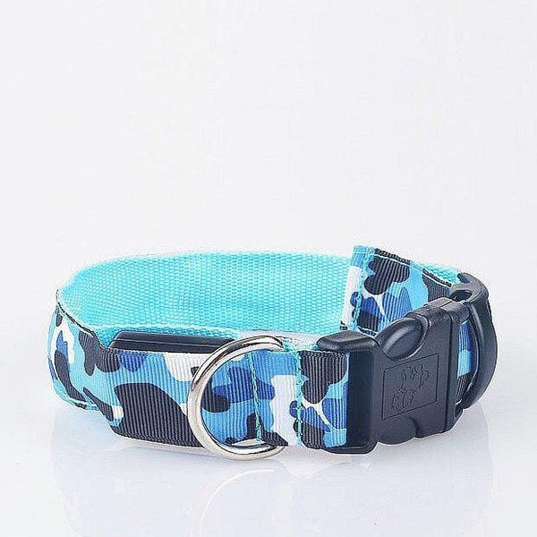 LED Camouflage Nylon Collar