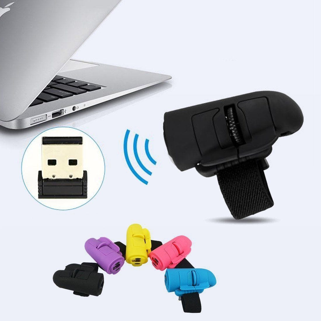 Wireless USB Ring Mouse