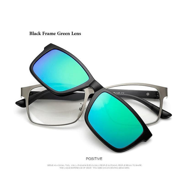 Polarized Clip On Glasses