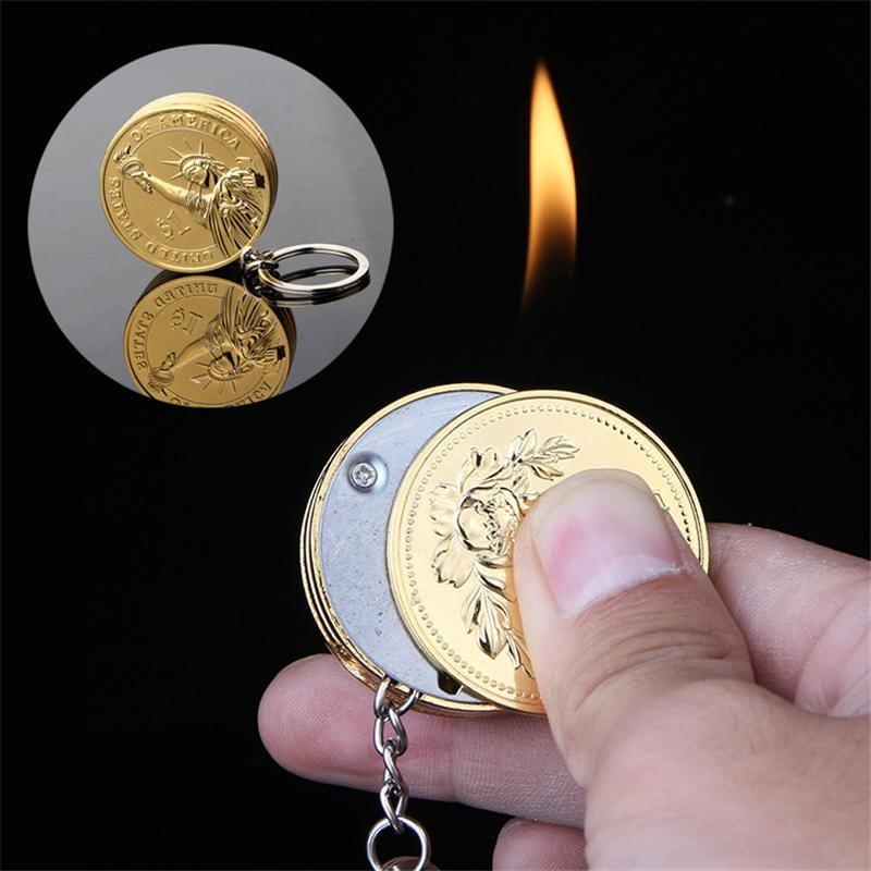 Coin-Shaped Lighter