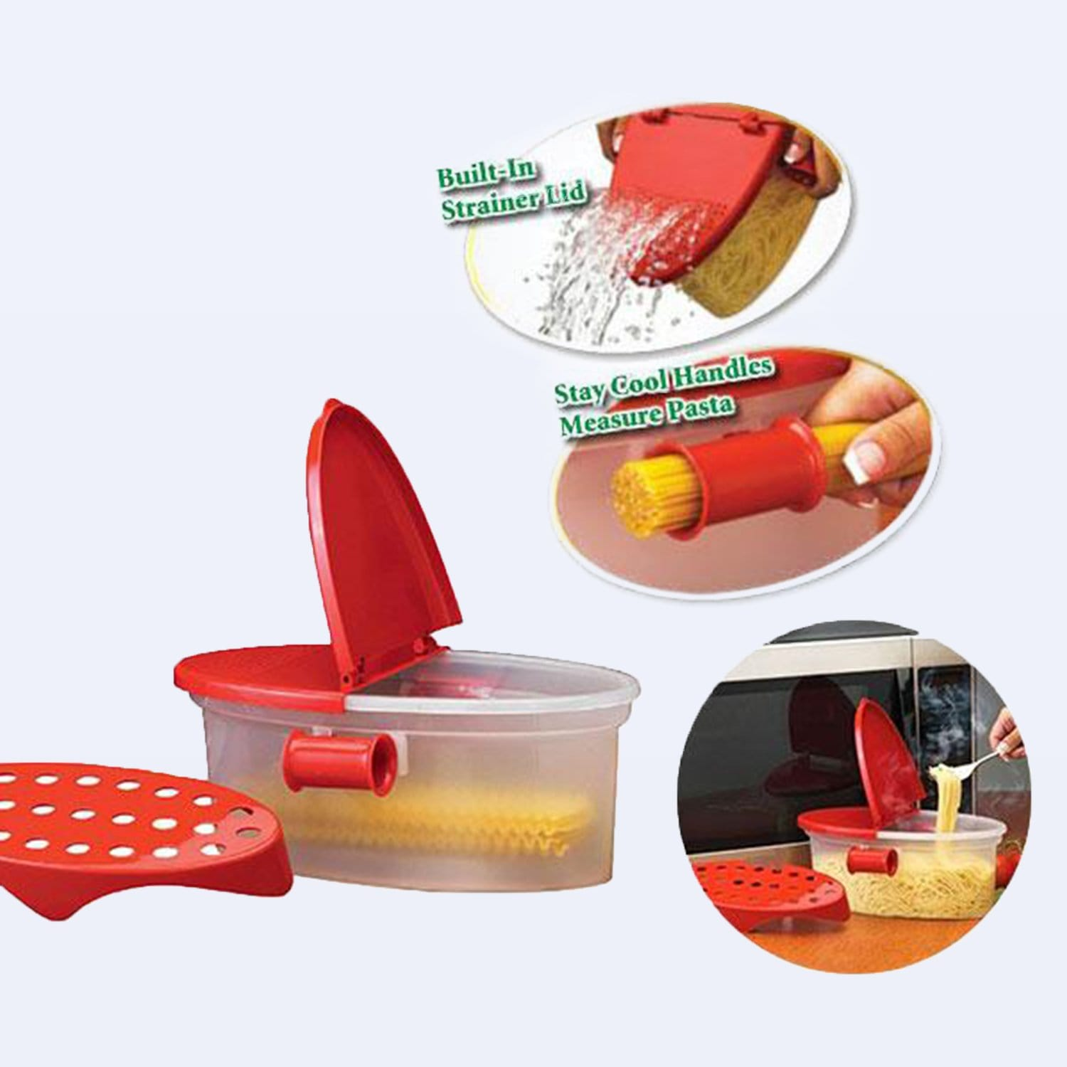 4 in 1 Strainer Container