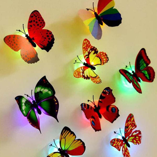 10 Pcs Butterfly Night Light