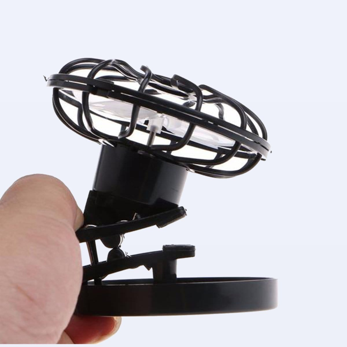 Solar-Powered Portable Clip-on Fan