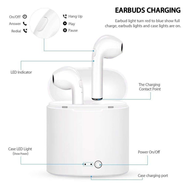 Wireless Bluetooth Stereo Earbud