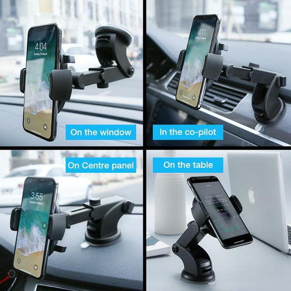 360 Universal Windshield Mount Phone Holder