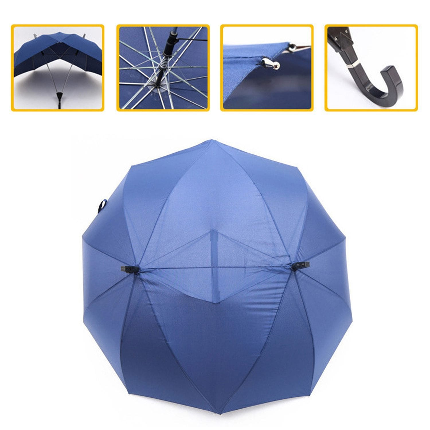 Couple Conjoined Umbrella