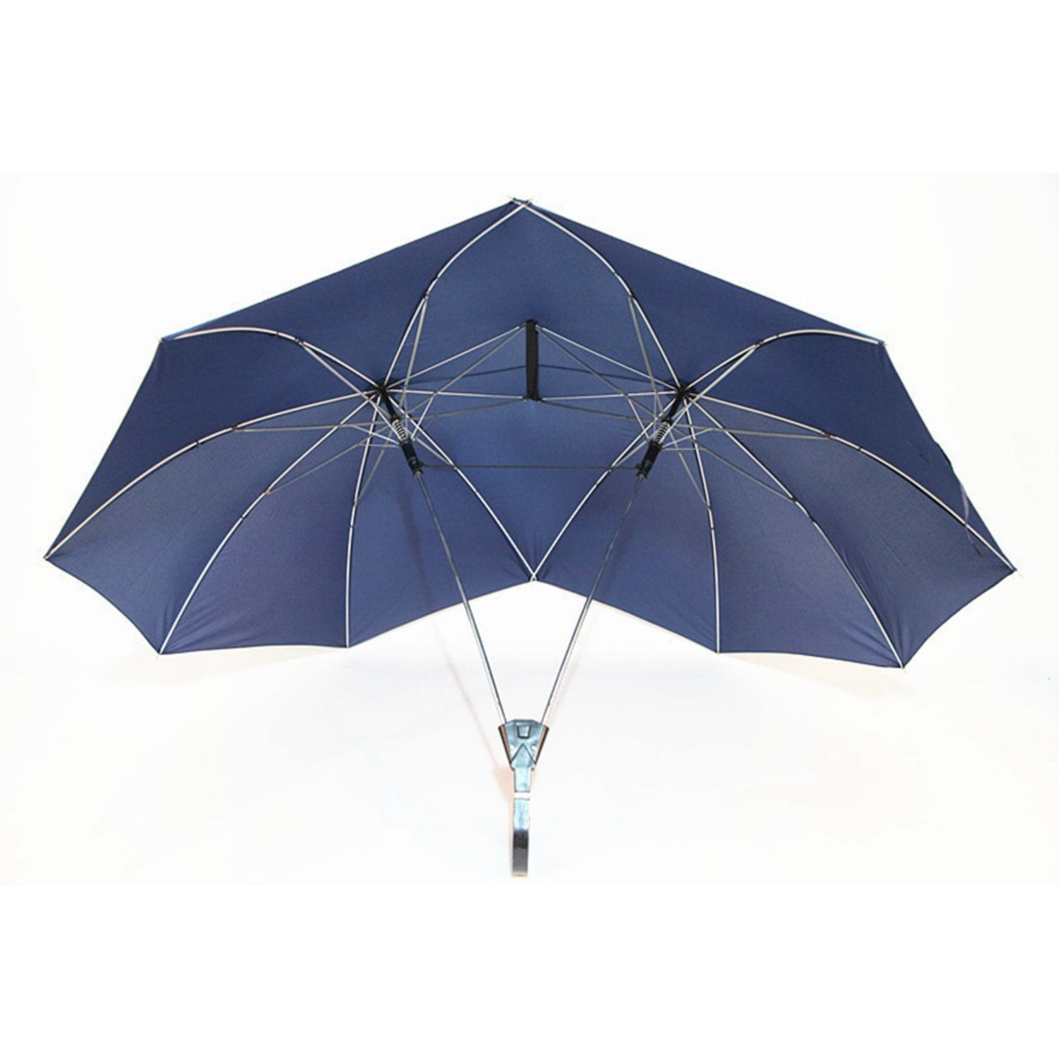 Couple Conjoined Umbrella For $45.55 Only
