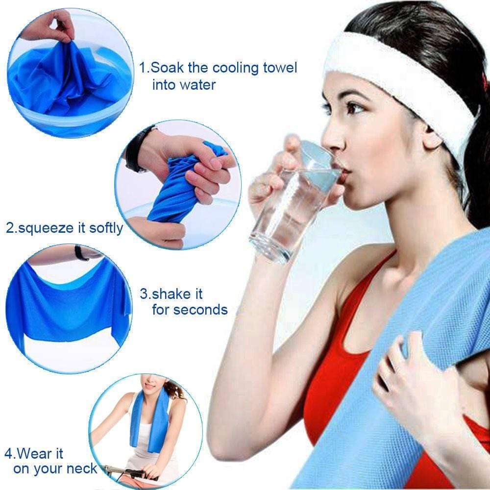 Sports Ice Cooling Towel