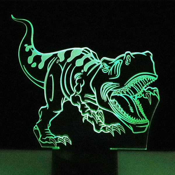 3D Color Changing LED Animal Lamp