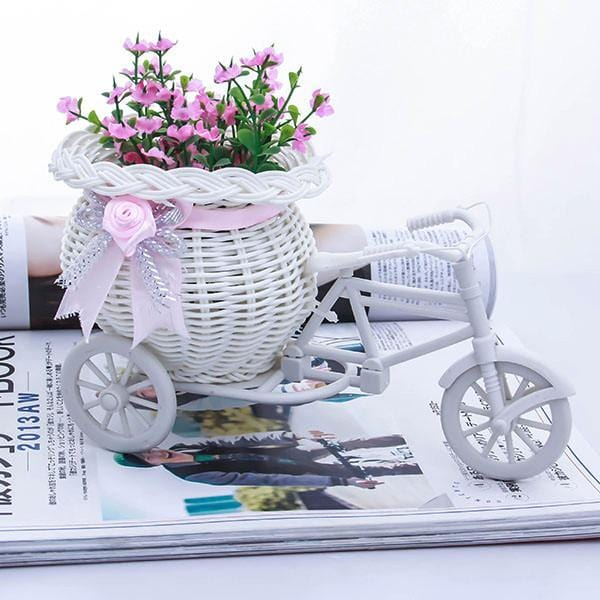 Handmade Flower Vase Bike