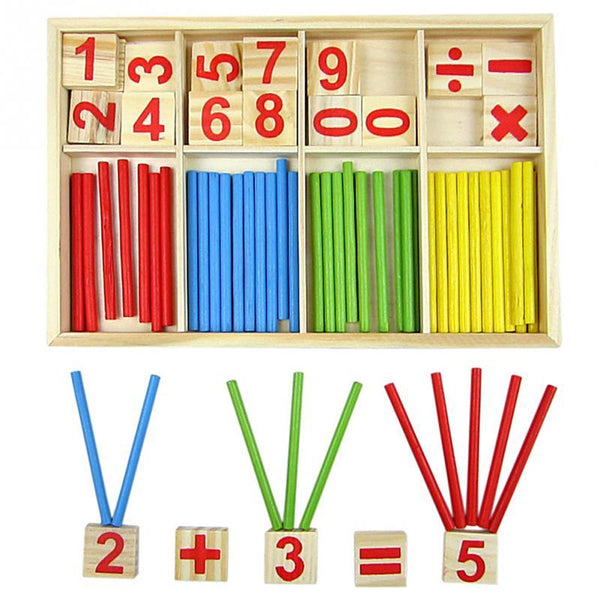 Montessori Math Counting Sticks