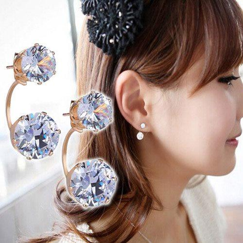 Premium Rhinestone Earrings