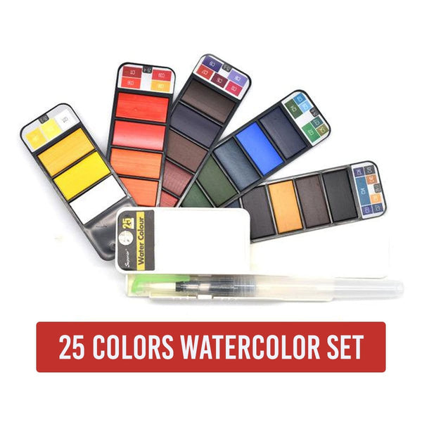 Magic Watercolor Paint Set
