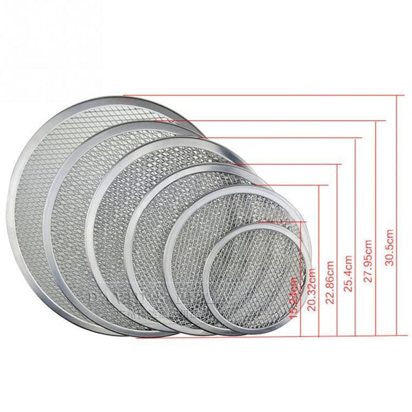 Seamless Aluminum Baking Screen Tray