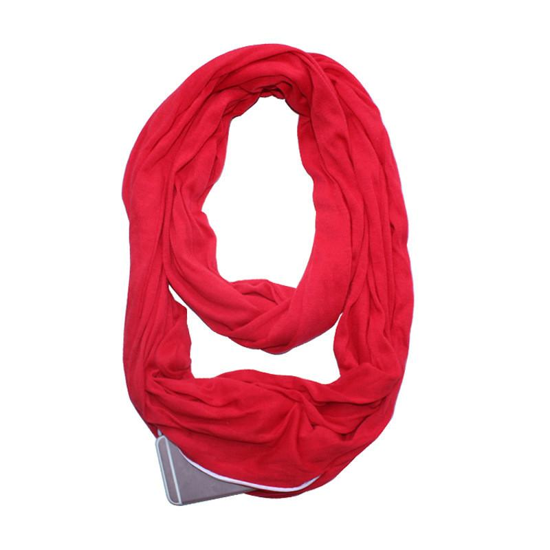 Convertible Infinity Pocket Scarf