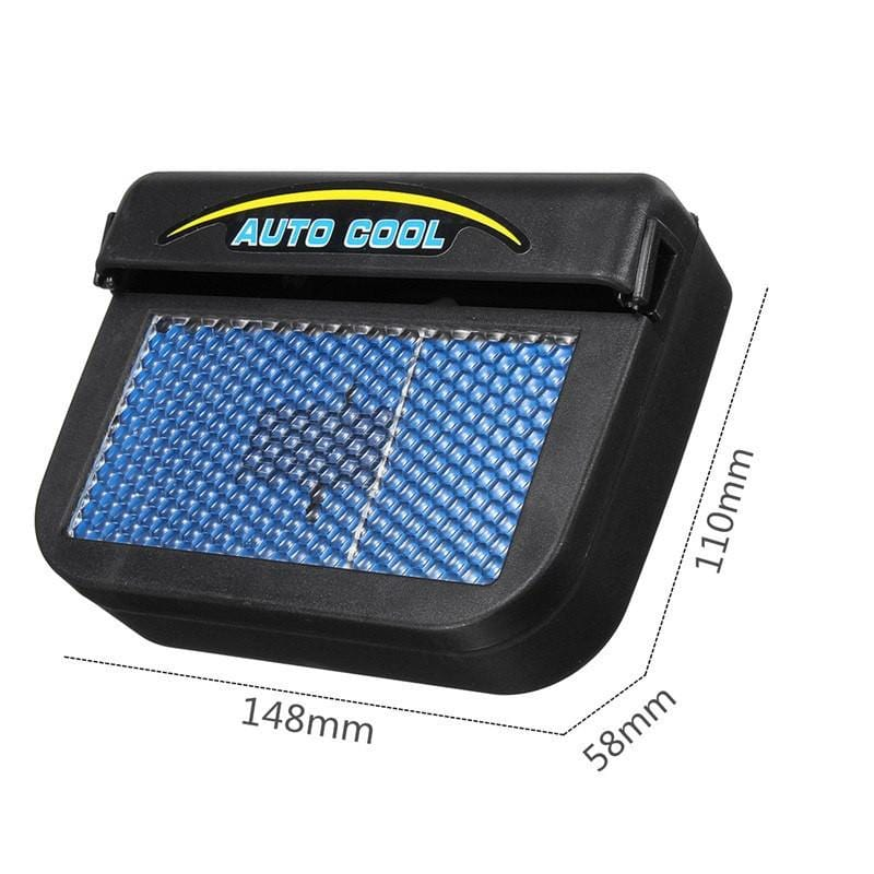Solar Powered Cool Car Ventilation