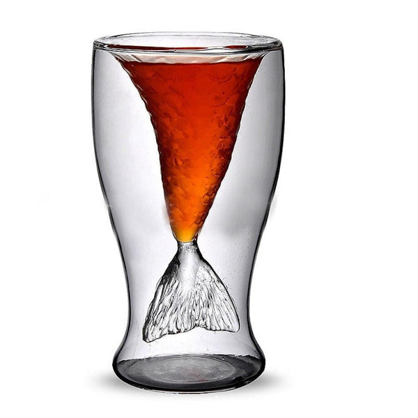 Mermaid's Tail Shot Glass