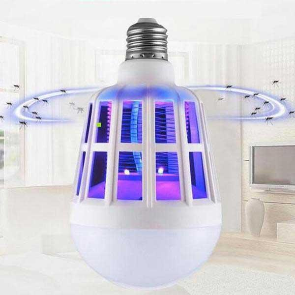 2 in 1 LED UV Night Light Bug Zapper Lamp