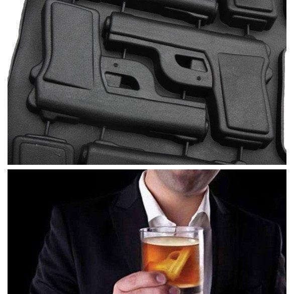 Pistol Gun Shape Ice Cube Mold