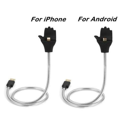 The Flexible Metal Phone Cable