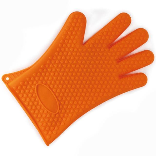 Silicone Heat Resistant BBQ Baking Glove