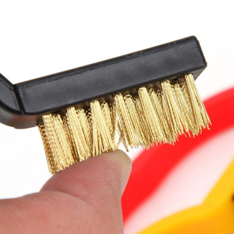 Stove Cleaning Fiber Wire Brush (3pcs)