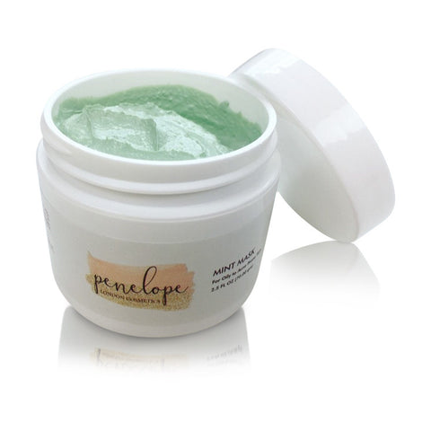 Mint Mask Penleope London Cosmetics