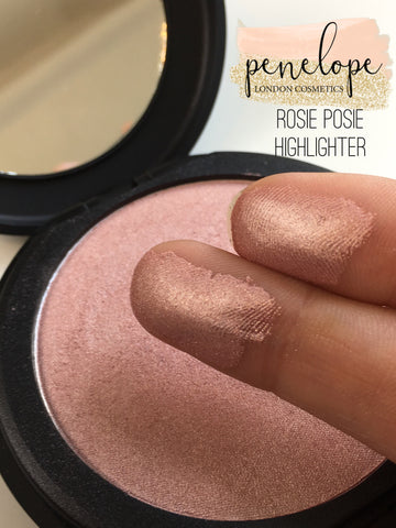 Rosie Posie Shimmering Dust Mineral Highlighter - Penelope London Cosmetics