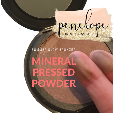 Summer Glow Bronzer Mineral Pressed Powder