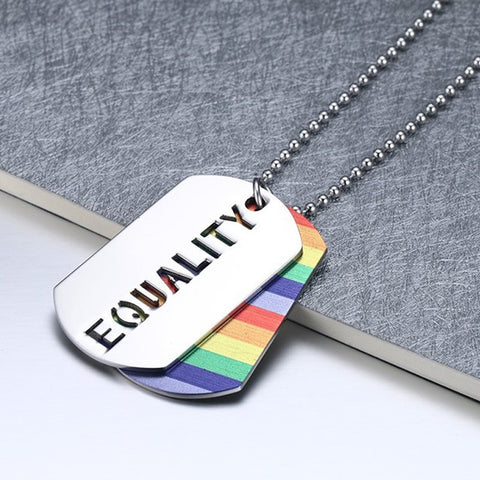 LGBT Equality Necklace