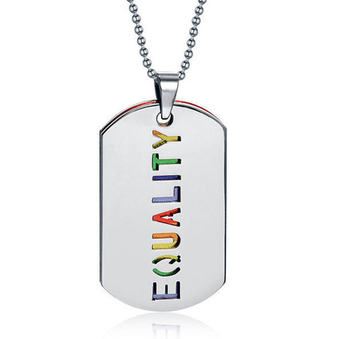 Free LGBT Equality Necklace