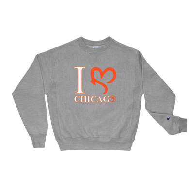 I Love Chi Crewneck - Grey