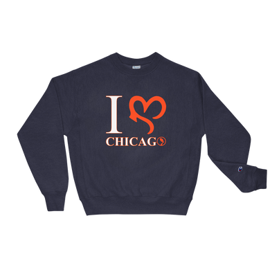 I Love Chi Crewneck - Navy