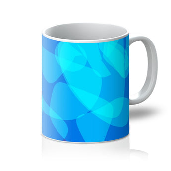 Atlantis Blue Coffee Mug - Front View