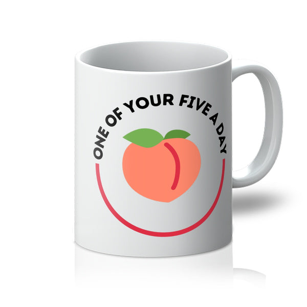 One Of Your Five A Day Mug
