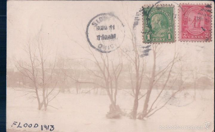 flood of 1913 sidney, ohio, usa