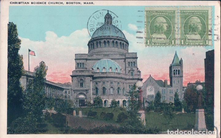 christian science church, boston, mass. i.c.f. 3683/176 melrose