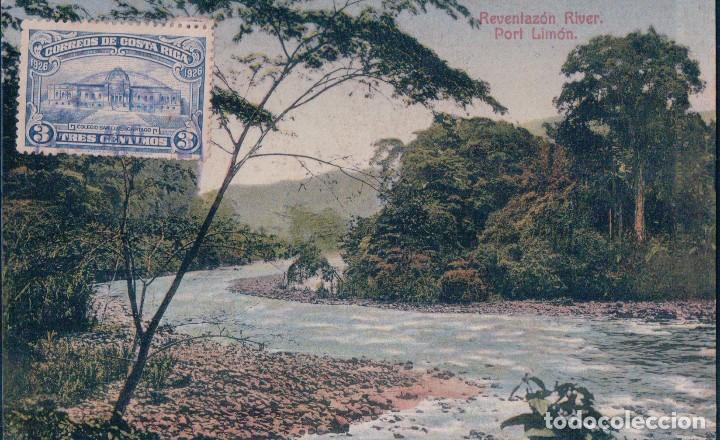 costa rica - reventazon river - port limon