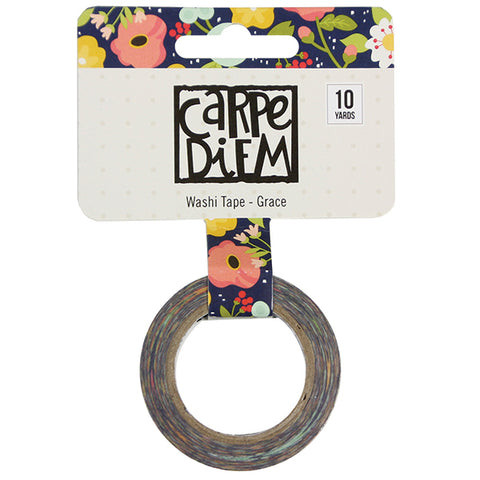 Carpe Diem Grace Washi Tape - Strawberry Lime Designs