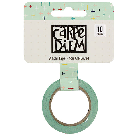 Carpe Diem You Are Loved Washi Tape - Strawberry Lime Designs