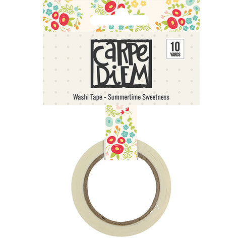 Carpe Diem Summertime Sweetness Washi Tape - Strawberry Lime Designs