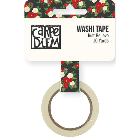 Carpe Diem Just Believe Washi Tape - Strawberry Lime Designs
