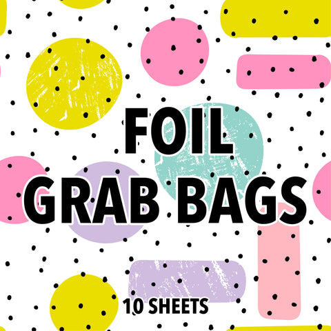 Foil Grab Bags - Strawberry Lime Designs