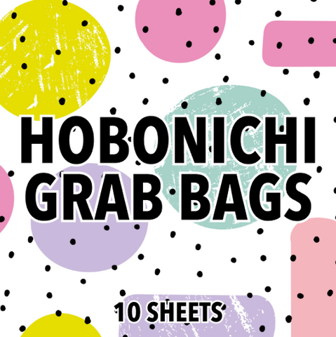 Hobonichi Grab Bags - Strawberry Lime Designs
