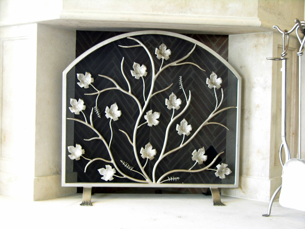 Frees tanding April Shower  Fireplace Screen