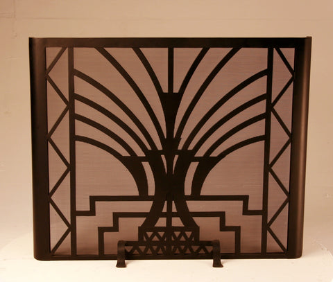 Standing Art Deco  Fireplace Screen