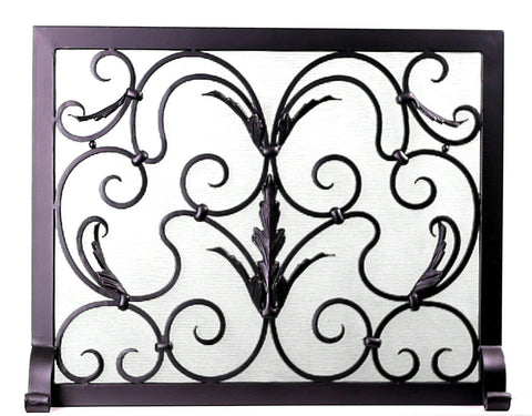 Freestanding Barcelona  Fireplace Screen