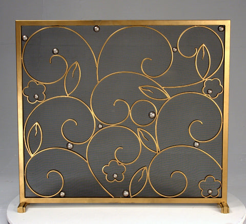 Edgar Brandt Art Deco Foyer firescreen